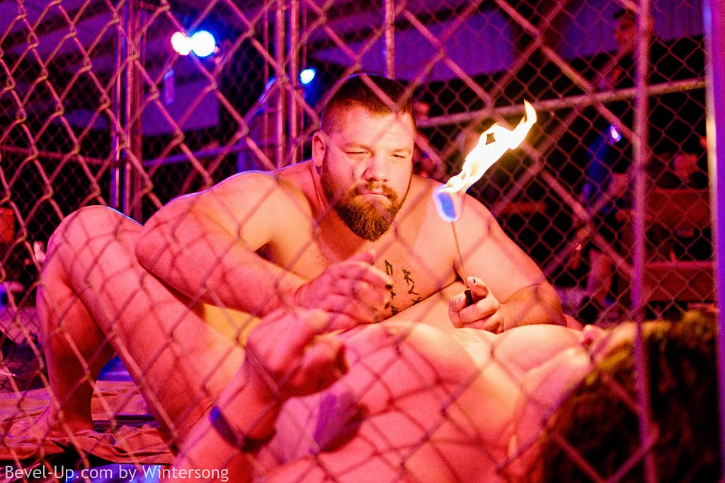 Caged Flame